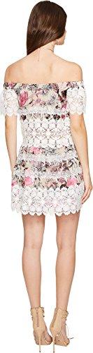 For Love and Lemons Women's Cadence Off the Shoulder Dress Pink Floral Dress by For Love & Lemons (Image #2)
