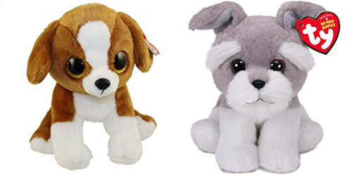 TY beanie babies originals set of 2, Snicky the dog and Harper the dog