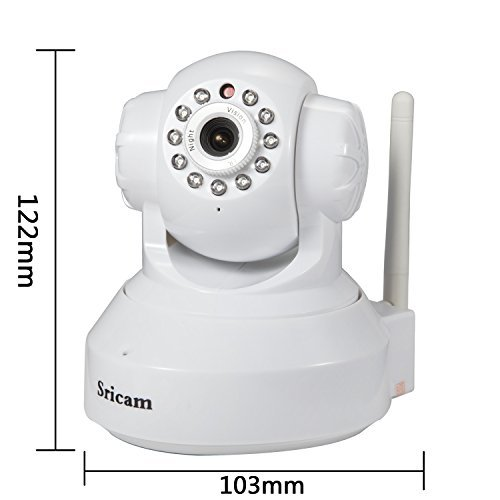 wireless cameras sricam baby monitor and home security camera hd ip camera p2. Black Bedroom Furniture Sets. Home Design Ideas