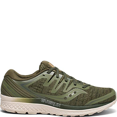 Saucony S20464-41 Men's Guide ISO 2, Olive Shade, 9