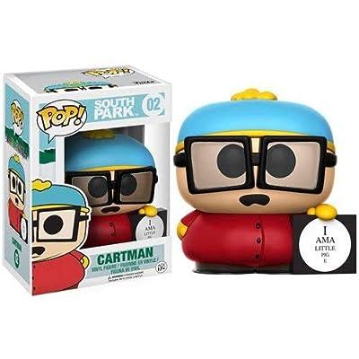 Nickelodeon Funko South Park Cartman Piggy Pop Vinyl Figure Action Figure: Funko Pop! Television:: Toys & Games