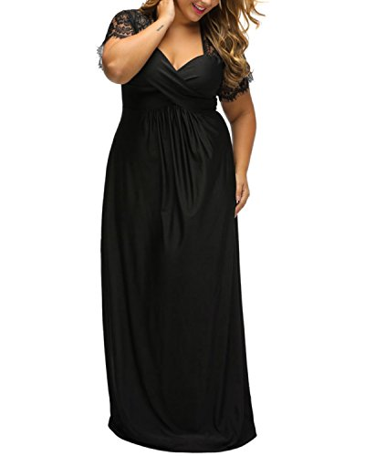 long black evening dresses size 16 - 9