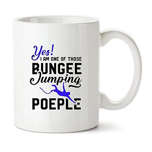 Mr.Fixed -Bungee Jumping Mug, Bungee Jumping Gifts, Bungee Mug, Yolo Themed Cup, Bungee Jumper Mug, Gift For Adrenaline Junkies, 11oz Ceramic Coffee Mug, Unique Gift