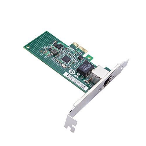 ipolex for Intel I210-T1 Single RJ45 Copper Port, Gigabit Converged Network Adapter(NIC), I210 Chipset, PCI-E X1