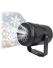 Kerst Projector Lichten Outdoor Waterdichte LED Sneeuwval Projectie Lamp Outdoor Indoor Landschap Spots voor Vakantie Kerst Decora