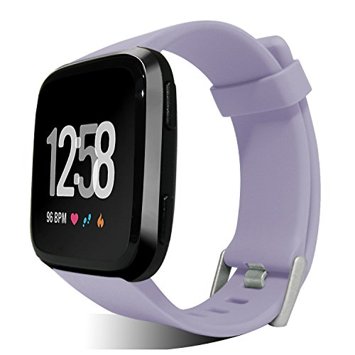- Kourpar Classic Band Replacements for Fitbit Versa Bands Women Men Small and Large Size,8 Colors Optional