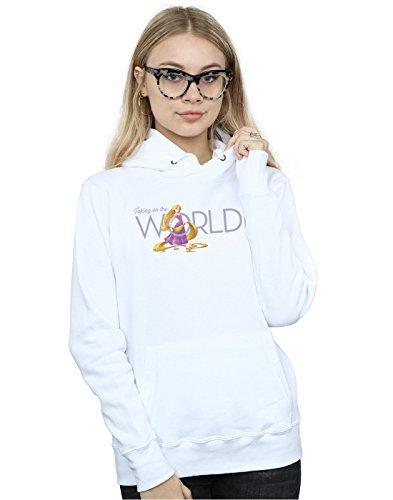 Taking Capucha Tangled The Disney World Blanco Mujer On zOqEB4w