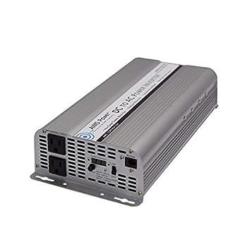 Image of AIMS Power 2500 Watt 12V 2500W / 5000W Surge Power Inverter Digital Meters PWRINV250012W Power Inverters
