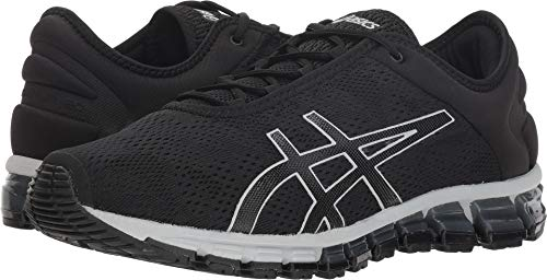 ASICS 1021A029 Men's Gel-Quantum 180 3 Running Shoe, Mid Grey/Black - 9 D(M) US