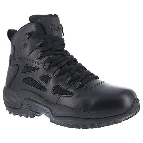 Reebok Men's 6' Rapid Response RB Soft Toe Waterproof Combat Boot Black 8 W