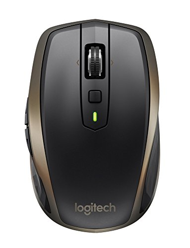 Logitech MX Anywhere 2 AMZ Wireless Bluetooth Mouse for Windows and Mac -...