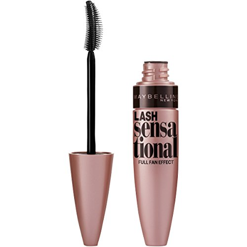 Price comparison product image Maybelline New York Lash Sensational Mascara, Blackest Black, 0.32 Fluid Ounce
