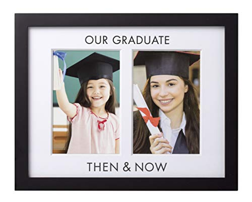 - Pearhead Then and Now Graduation Frame, Celebrate Milestones and Capture First and Last Graduation Photos in Graduation Cap and Gown