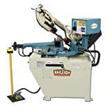 Baileigh BS-260SA Hydraulic Semi-Automatic Band Saw, 1-Phase 110/220V, 1.5hp Motor, 1