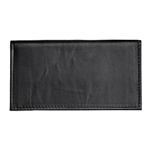 hunter-allen-textured-bison-leather-checkbook-cover
