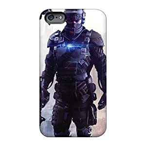 Durable Hard Cell-phone Case For Apple Iphone 6s Plus With Support Your Personal Customized Realistic Machine Head Band Series MarkMacarthur