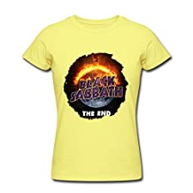 Women's Black Sabbath The End 2016 T Shirt