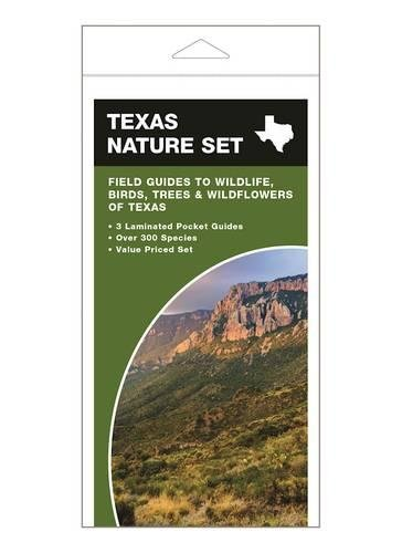 Texas Set (Texas Nature Set: Field Guides to Wildlife, Birds, Trees & Wildflowers of Texas)