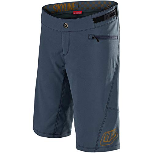 Troy Lee Designs Skyline Short with Liner - Women's Solid Slate/Bourbon, S by Troy Lee Designs (Image #2)