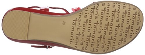 Sling Tamaris Back Donna 533 28145 chili Red Sandals w7ZFFEq