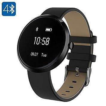 Montre Connectée Cardio Bluetooth Smartwatch Tension Sommeil Pédomètre