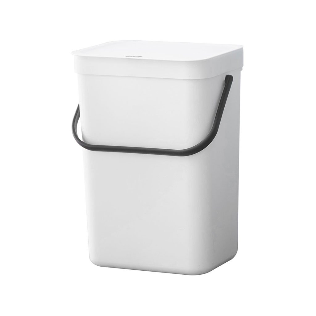 Wall-Mounted Trash Can Rectangular with Lid Kitchen Kitchen Trash Can Wastebasket BYNNBCY