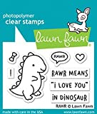 #9: Lawn Fawn LF1555 RAWR Clear Stamp Set