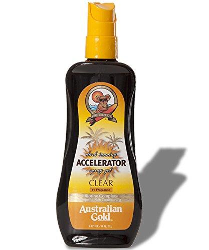 Australian Gold Dark Tanning Accelerator Spray Gel Clear (Accelerator Gel)