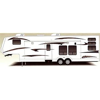 Rv trailer camper harley hauler large vinyl decals graphics kit k