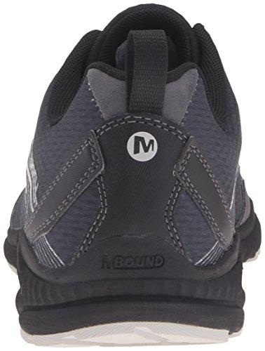 Merrell Trail Crusher, Zapatillas de Running para Asfalto para Hombre, Gris Multicolor (Granite/Black)