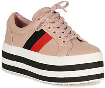 c5086704bd8d0 Shopping ALRISCO - 6.5 - Fashion Sneakers - Shoes - Women - Clothing ...
