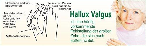 hickers Berger hierbas Guantes Mujer Vario Hallux–Chanclas gris