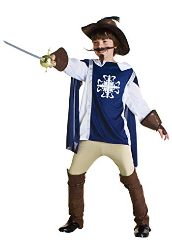 Child Musketeer Costume Small (4-6) ()