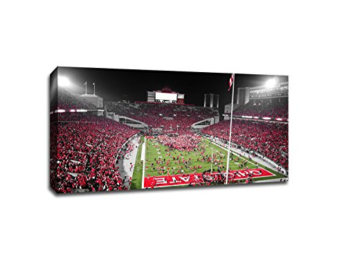 The Ohio State - College Football - 40x22 Gallery Wrapped Canvas Wall Art (College Football Art)