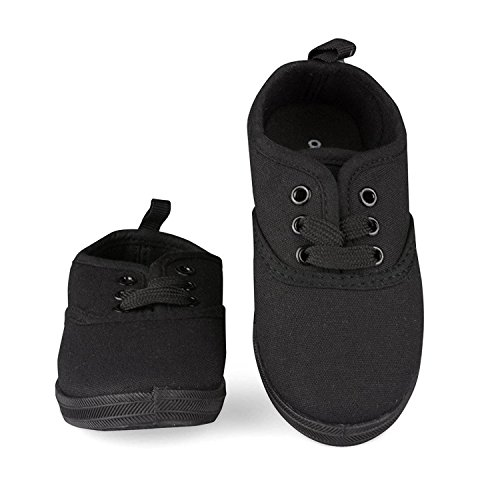 All Black Sneakers For School - 9