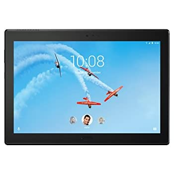"Lenovo Tab 4 Plus, 10"" Android Tablet, 64-bit Octa-Core Snapdragon, 2.0GHz, 16 GB Storage, Black, ZA2T0000US"