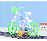 Wffo Mini Balance Bicycle Toy Pull Back Bicycle Early Model Children Educational Toys First Birthday Gift