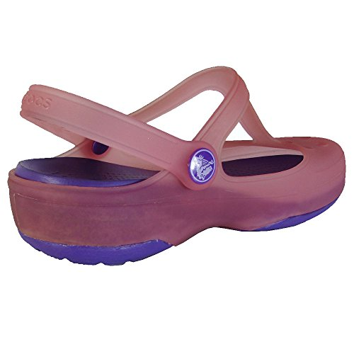 Jane Coral Purple Neon Crocs Mary Carlie Women's qPT44w8U