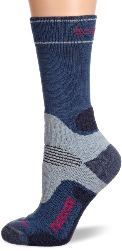 - Bridgedale Women's WoolFusion Trekker Socks, Blue/Sky, Medium