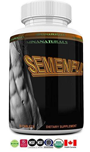 Increase Volume - SEMENFUL Semen Volumizer. Male and Female Climax Enhancer. Cum Volume Enhancement. Semen Volume Increaser. 30 Tablets