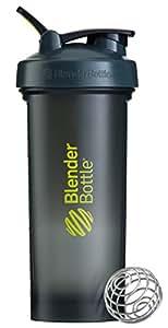 Blender Bottle Pro45 Shaker Bottle with Adjustable Carry Loop Handle, Grey/Green, 1.3 Litre Capacity