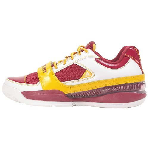 Adidas Ts Lightswitch Gil Mens Scarpe Da Basket Bianco / Oro Collegiato / Bordeaux (pellerossa)