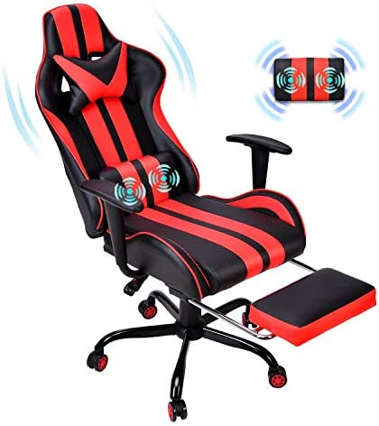 Ferghana Gaming Chair,Large Size Ergonomic Racing Style PC Game Computer Chair - a good cheap video game chair