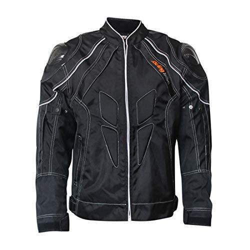 LLC-CLAYMORE Motorcycle Jackets, Carbon Fiber Armor Shoulder, Moto Jacket for Men and Women,XXL