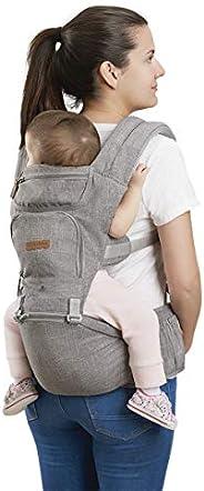 Canguru Para Bebê Fisher Price Cinza Multikids Baby - BB312 BB312
