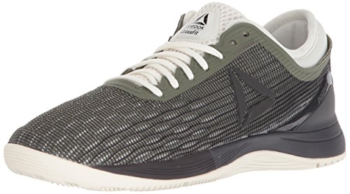 Walk Chalk - Reebok Women's CrossFit Nano 8.0 Sneaker, Hunter Green/Coal/Chalk, 7 M US