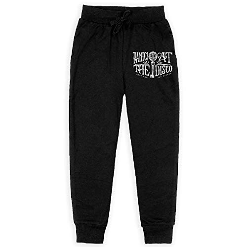 (SISA Panic at The Disco Teens Boys Girl Sweatpants Athletic Long Pants with Pockets Jogging Workout)