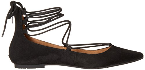 BC Footwear Womens Animated Ballet Flat Black JiPpk8