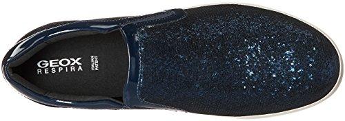 da Geox D A Scarpe Hidence Black Ginnastica Basse Blau Donna Navyc4429 wpqf1PpB
