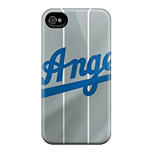 Protective Hard Cell-phone Cases For Iphone 6 (vwQ20067ZGfP) Provide Private Custom Nice Los Angeles Dodgers Skin